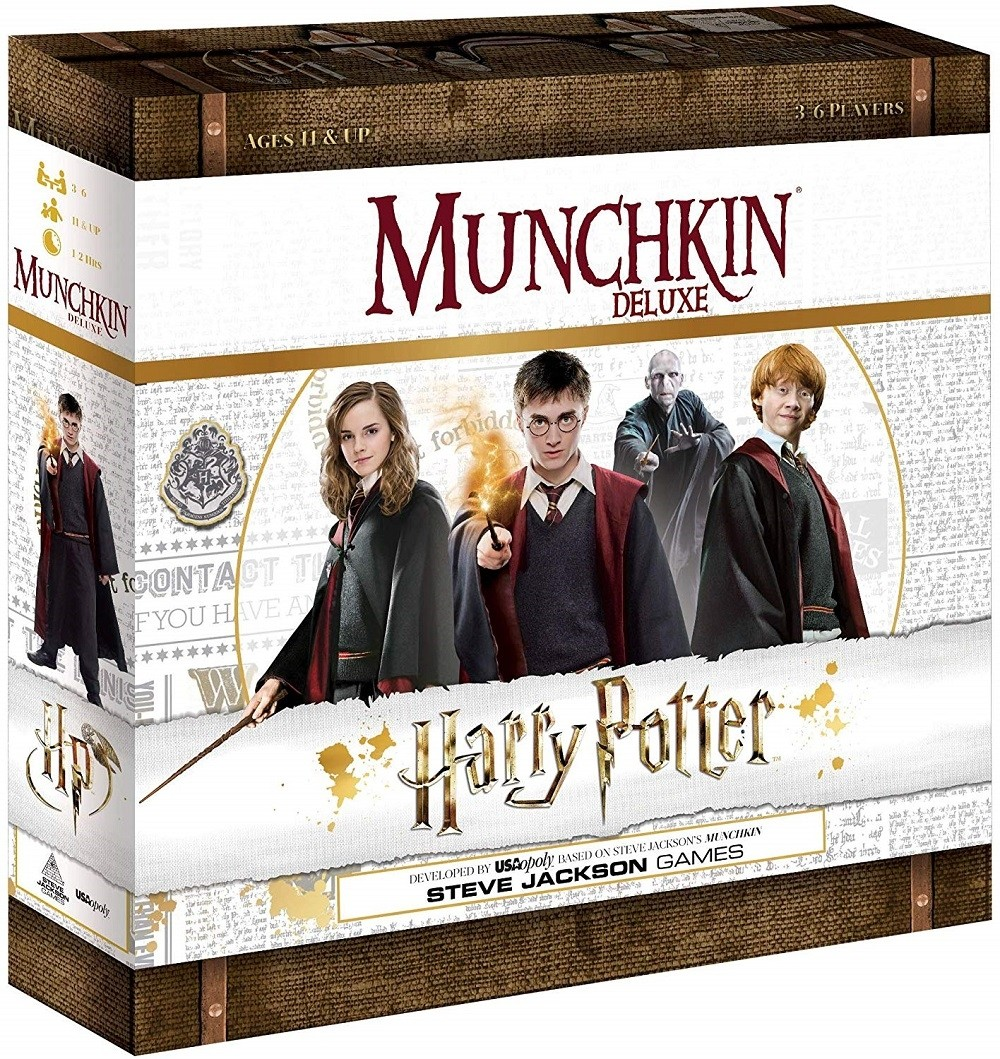 Munchkin Deluxe Harry Potter Game A Mighty Girl