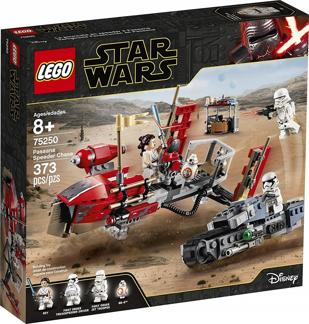 Lego Star Wars Rey S Pasaana Speeder Chase A Mighty Girl
