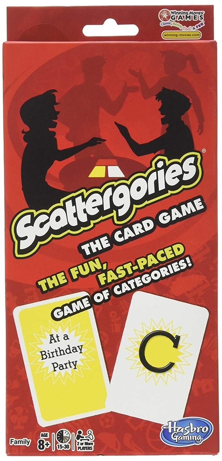 Scattergories Card Game A Mighty Girl