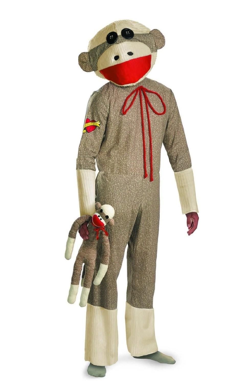 Sock Monkey Costume  sc 1 st  A Mighty Girl & Sock Monkey Costume   A Mighty Girl