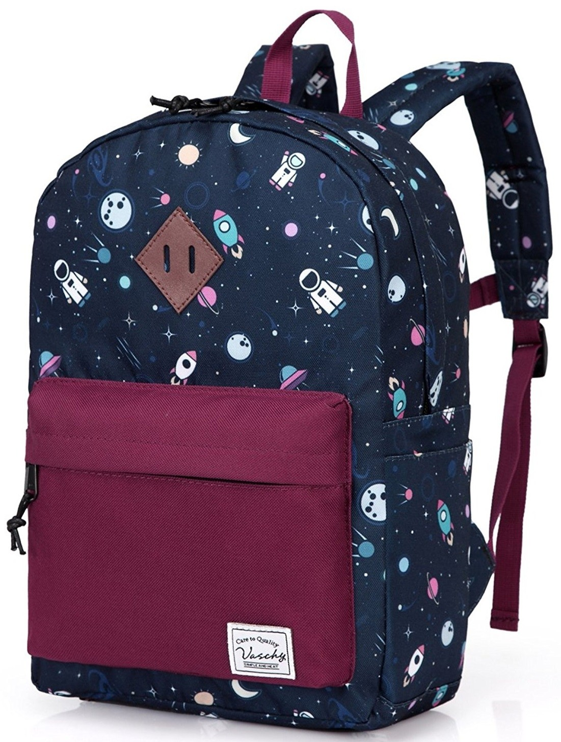 Vaschy Patterned Preschool Backpack A Mighty Girl