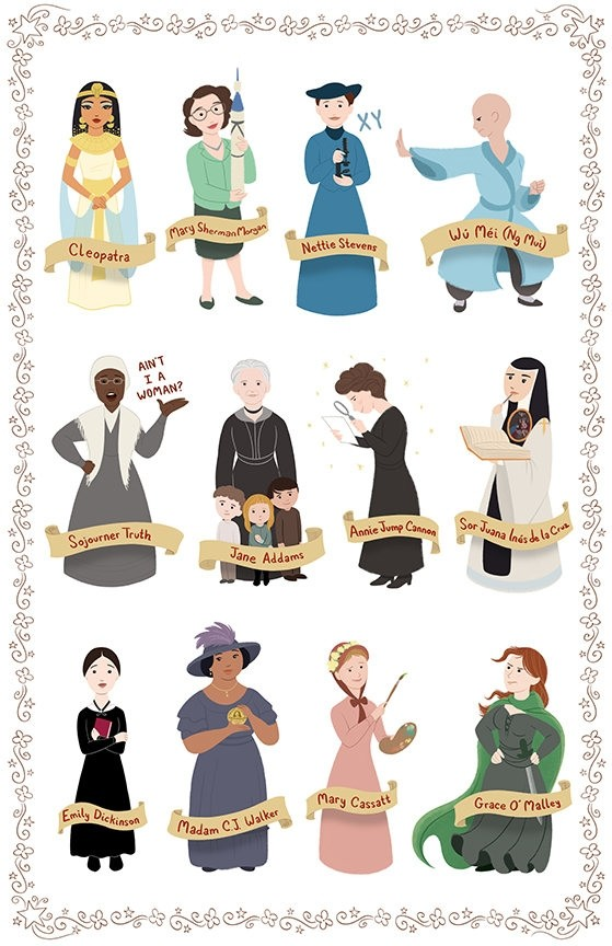 Women in History Posters 3-Pack