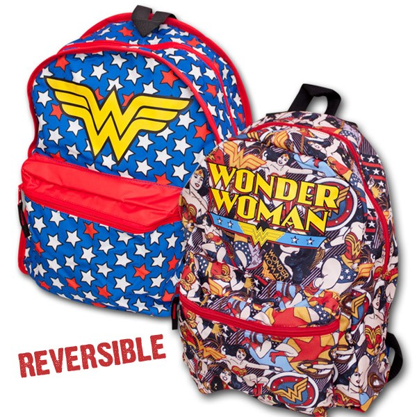 Wonder Woman Reversible Backpack A Mighty