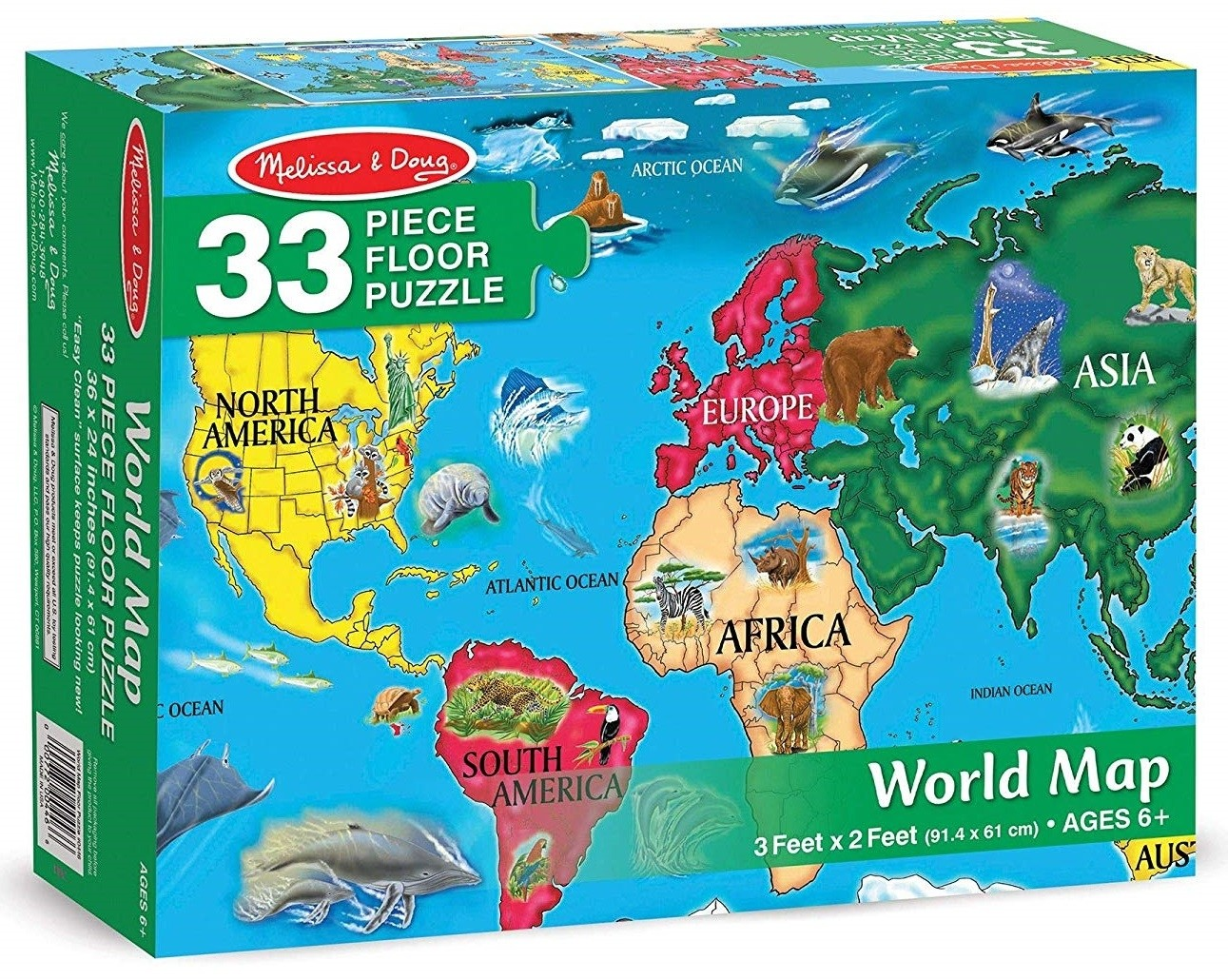 World Map Jigsaw Puzzle A Mighty Girl