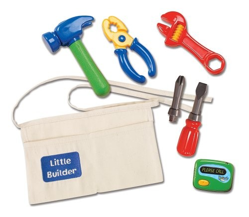 Toy Tool Kits For Girls : Little builder tool belt a mighty girl