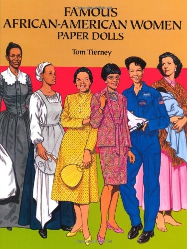 African American Living Room Apartment Decor: Famous African American Women Paper Dolls