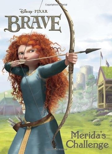 Merida S Challenge Coloring Book A Mighty Girl