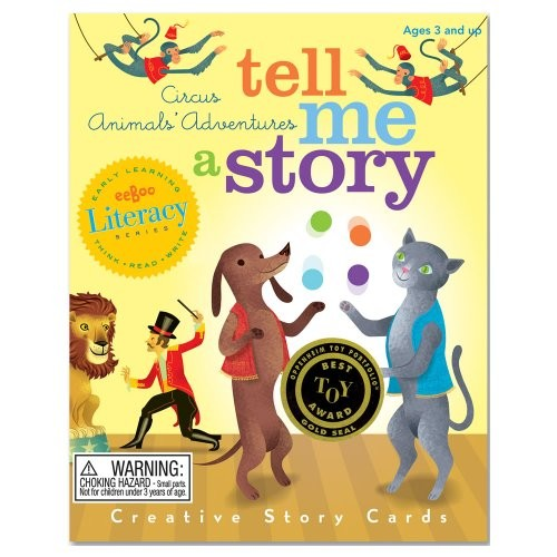 Tell Me A Story Circus Animal S Adventure A Mighty Girl