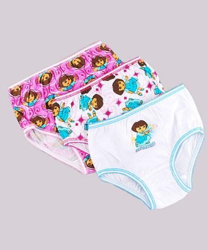 Dora The Explorer Stars Underwear 3 Pack on Parent Empowerment