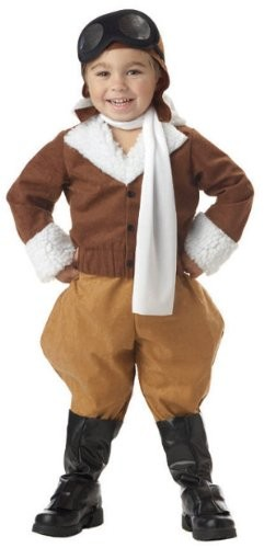 Amelia Earhart Toddler Costume | A Mighty Girl