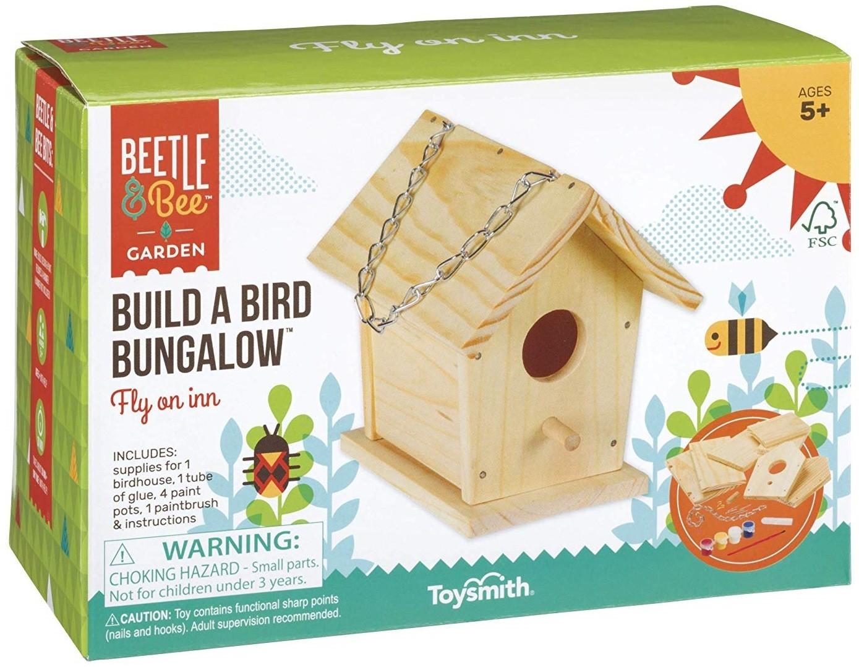 6 Pack Wooden Bird House  Fairy Door Accessory Code Bird House Tall B