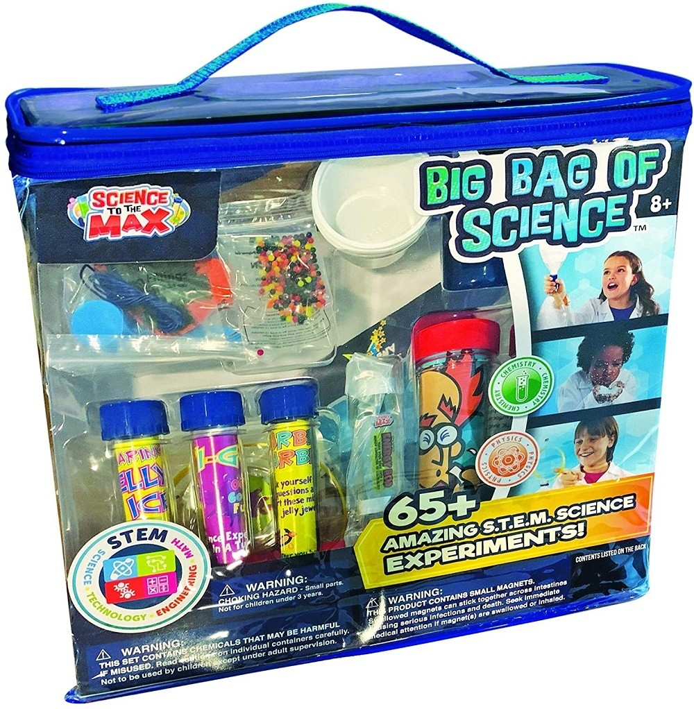 Science in a Tube Be Amazing 36 Pieces Super Tubes Display Great Gift for Kids