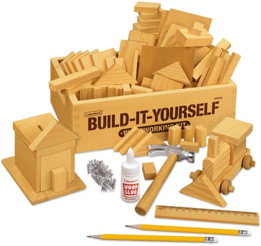Build It Yourself Woodworking Kit A Mighty Girl