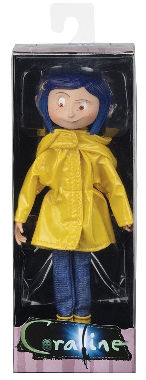 Coraline Bendy Doll In Rain Coat A Mighty Girl