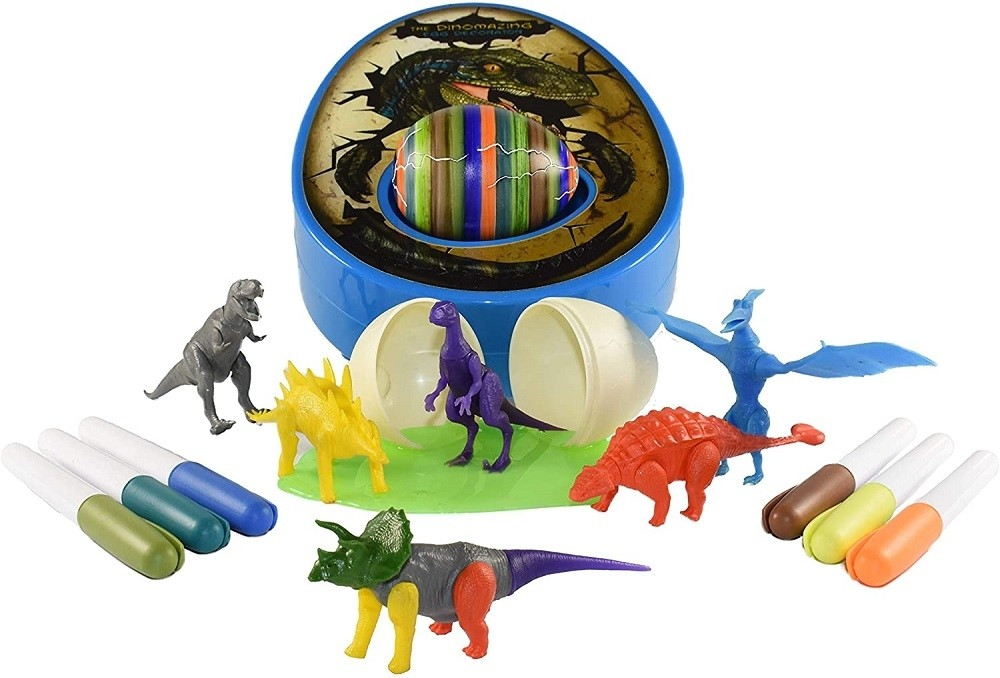 Novelty /'Hatching/' Fizzy Safari Animal Egg Toy Creative Easter Gift