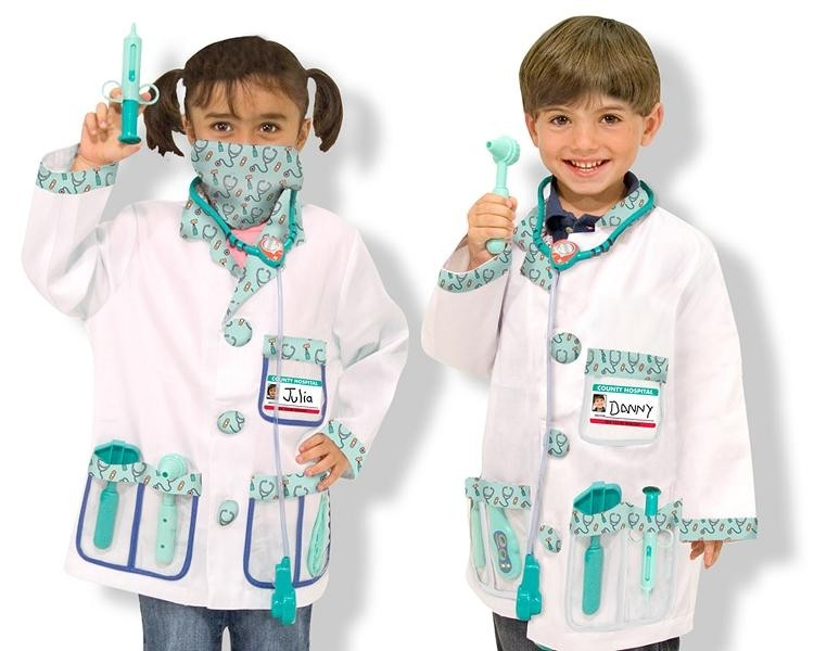 melissa and doug doctor costume set a mighty girl