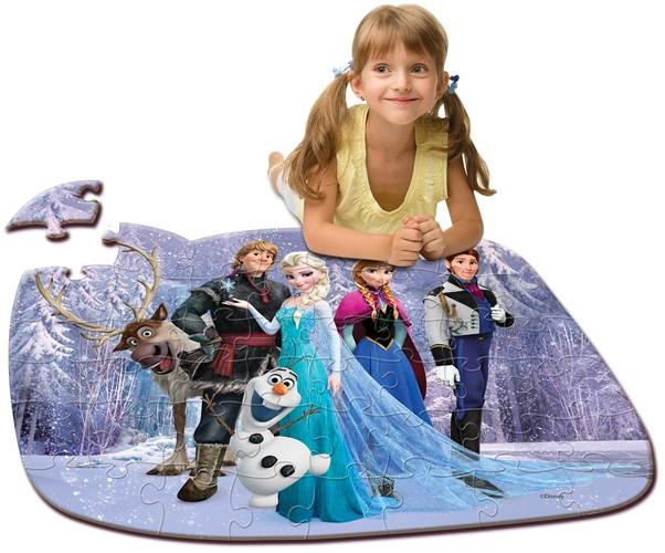 Frozen Floor Puzzle A Mighty Girl
