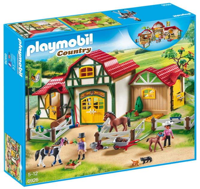 Playmobil Horse Farm A Mighty Girl