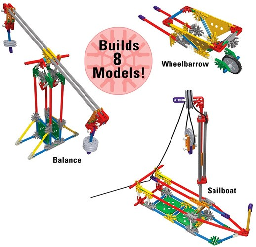 Pulleys And Levers : K nex intro to simple machines levers and pulleys a