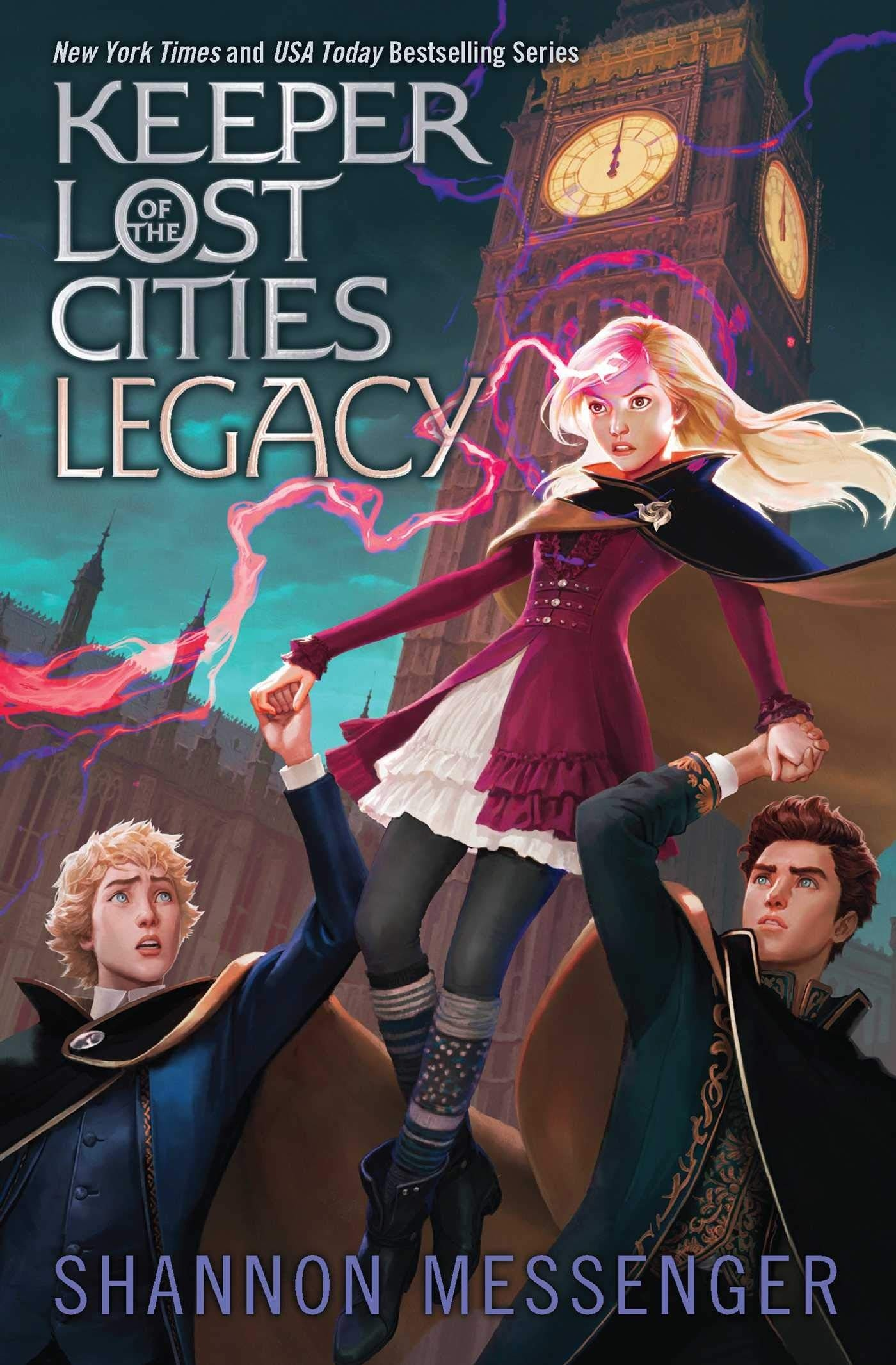 Keeper of the Lost Cities: Legacy | A Mighty Girl