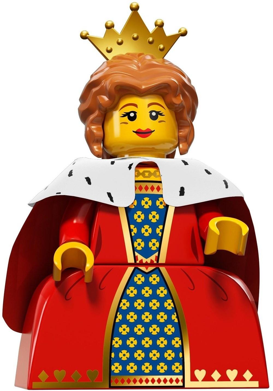 LEGO Queen Minifigure   A Mighty Girl