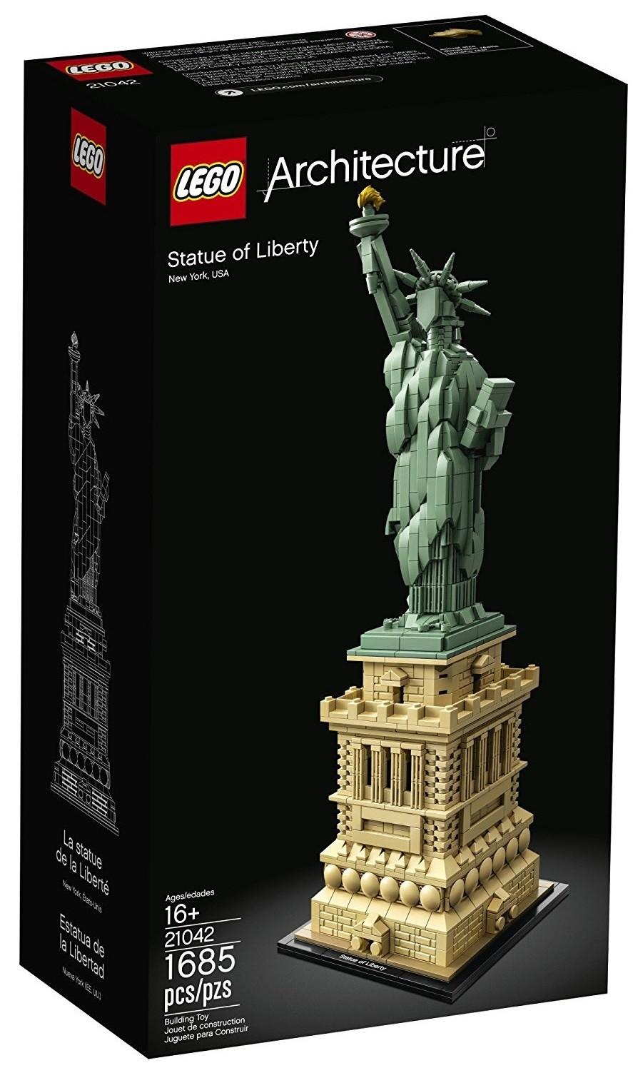 Statue de la liberté-Lego Minifigures compatible-New York City