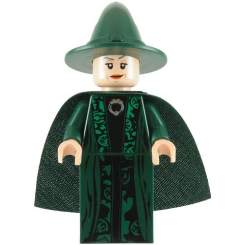 Lego Professor Mcgonagall Minifigure A Mighty Girl