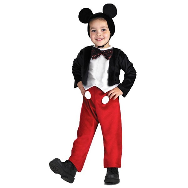 Mickey Mouse Deluxe Toddler Costume Mighty Girl