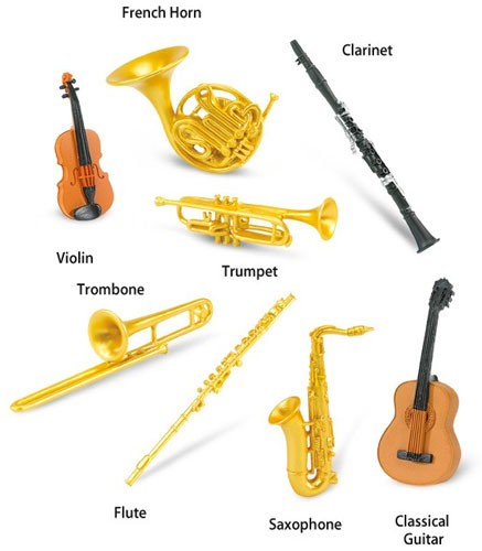 Musical Instruments Toob A Mighty Girl
