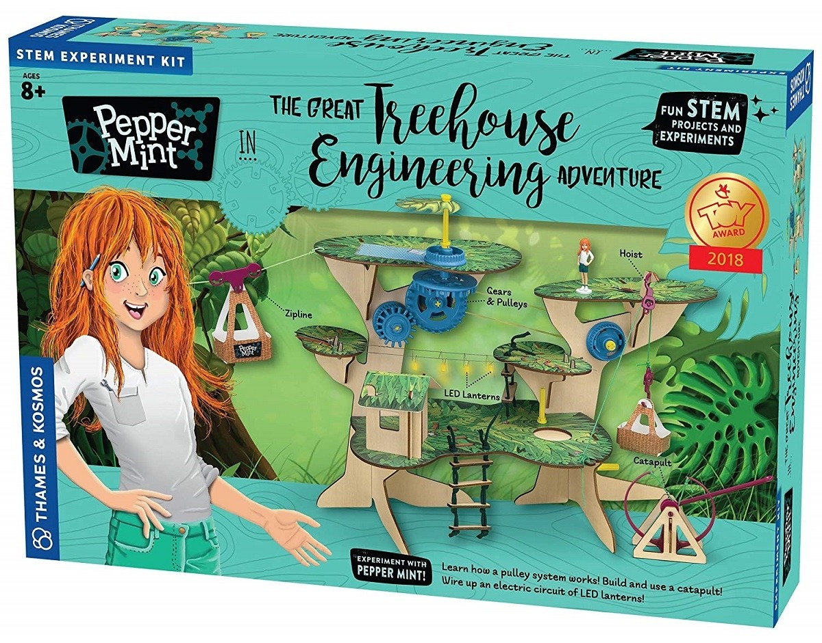 Building Her Dreams Top 60 Toys For Mighty Girls A Snap Circuits Rover Kids Engineering Skills Is Item Pepper Mint In The Great Treehouse Adventure