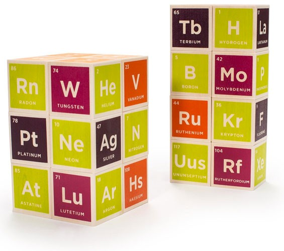 Periodic table building blocks a mighty girl periodic table building blocks urtaz Choice Image