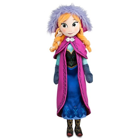 Disney Frozen Plush Anna Doll