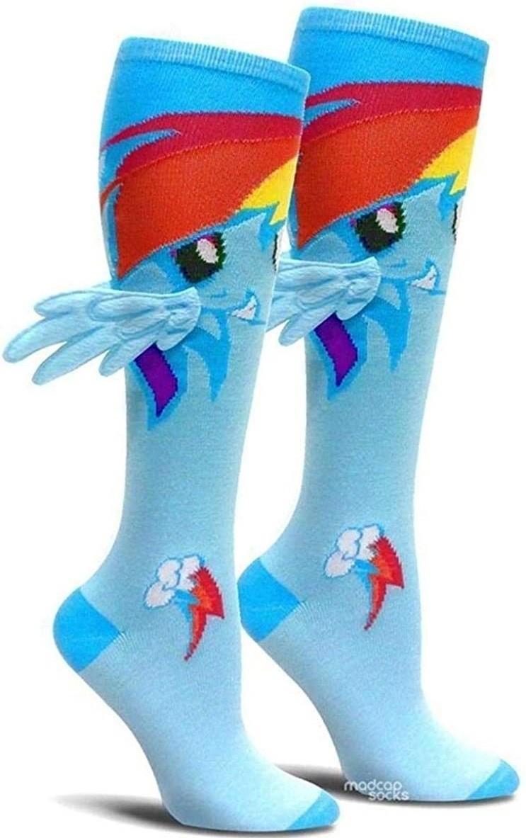 Good Luck Sock Womens Math Equations Socks Adult Shoe Size 5-9 Black