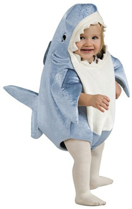 Infant Toddler Deluxe Shark Costume