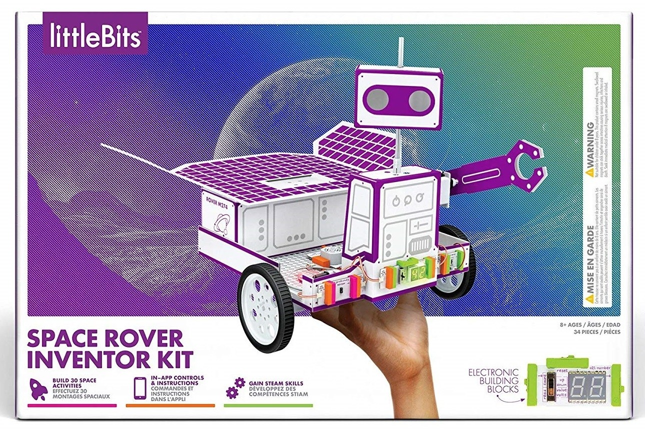 Building Her Dreams Top 60 Toys For Mighty Girls A Littlebits Introduces Your Kids To Fun Modular Electronic Projects Space Rover Inventor Kit