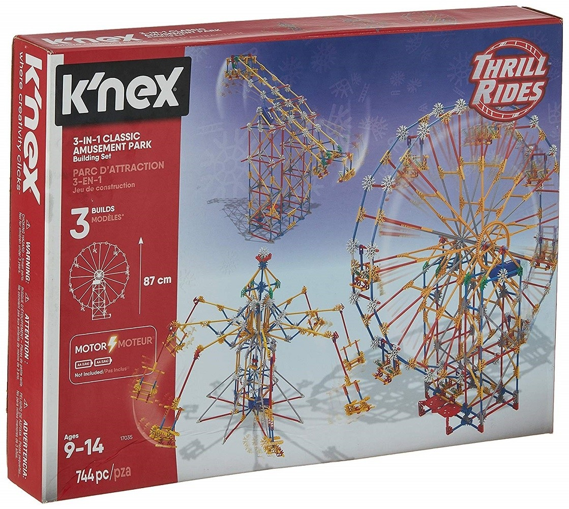 Building Her Dreams Top 60 Toys For Mighty Girls A Squishy Circuits Deluxe Kit Click To Enlarge Knex 3 In 1 Classic Amusement Park Set