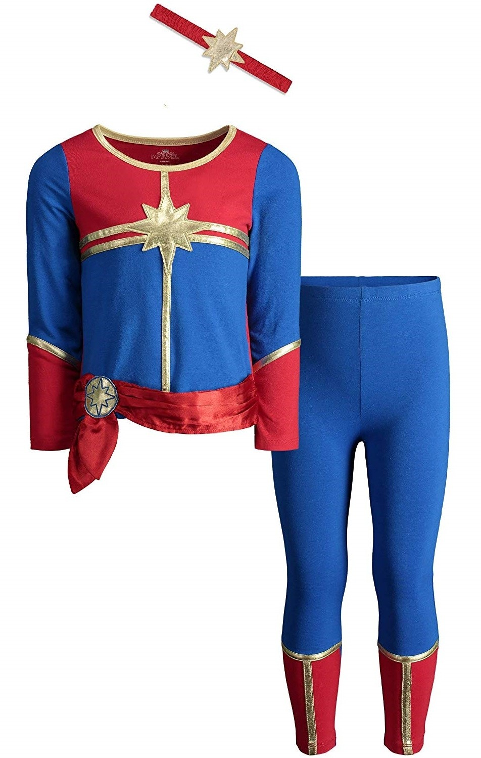Captain Marvel Toddler Costume A Mighty Girl The most common captain marvel costume kids material is cotton. captain marvel toddler costume a