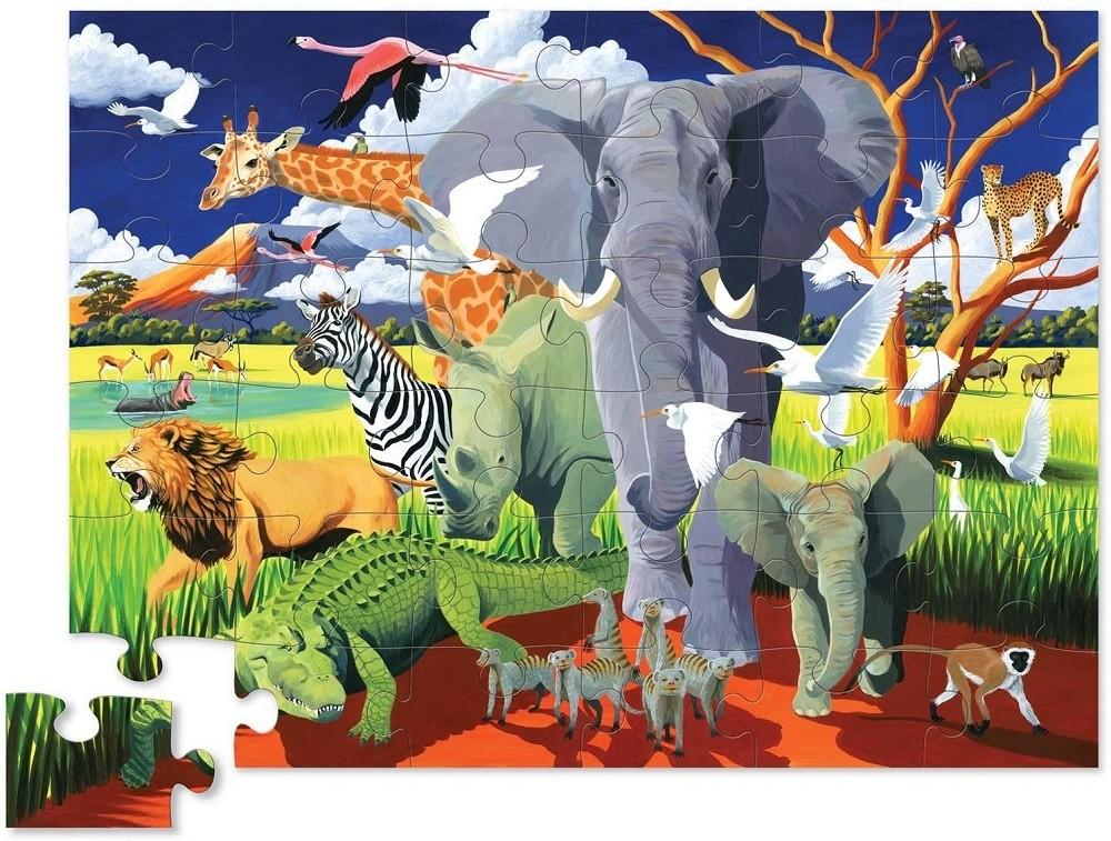 Jan Brett The Hat New York Puzzle Company 24 Piece Jigsaw Puzzle