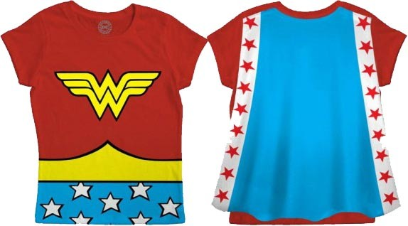 849731f1f59 Caped Wonder Woman T-Shirt