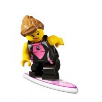 Lego Surfer Girl Figure