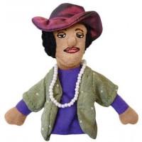 Zora Neale Hurston Finger Puppet & Magnet