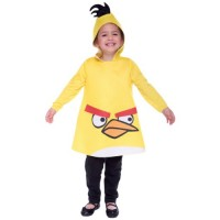 Yellow Angry Bird Toddler/Preschooler Costume