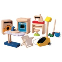 Dollhouse Cleaning Tools Set