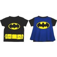 Batman/Batgirl Caped T-Shirt