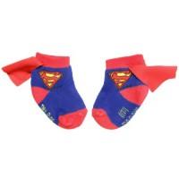 Supergirl Caped Infant Socks