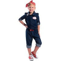 Rosie the Riveter Kids Costume