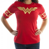Wonder Woman Red & Gold T-Shirt