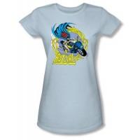 Batgirl on Motorcycle T-Shirt