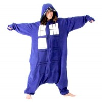 Doctor Who TARDIS Kigurumi