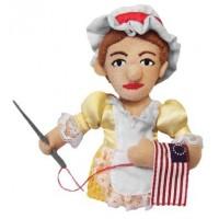 Betsy Ross Finger Puppet & Magnet